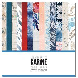 Les Ateliers de Karine Blue Batik