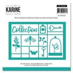 Les Ateliers de Karine Green & Graphik - Joli casier Dies