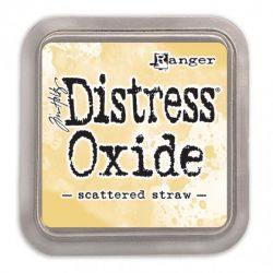 Distress Oxide Scattered Straw