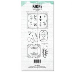 Les Ateliers de Karine Tampon clear Mon Herbier
