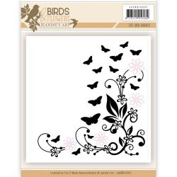 Jeanine's Art - Birds and Flower Cut and Embossing folder