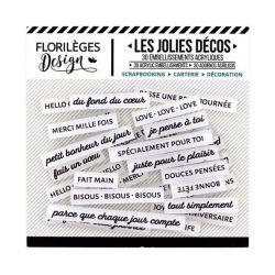 Florilèges D. Les jolies décos Edelweiss