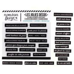 Florilèges D. Les jolies décos Carbone