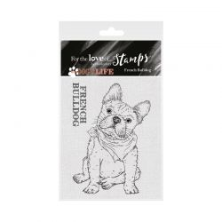 Hunkydory For the Love of Stamps - For the Love of Stamps - It's a Dog's Life Clear Stamp - French Bulldog