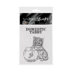 Hunkydory For the Love of Stamps - For the Love of Stamps - It's A Cat's Life Clear Stamp - Domestic Tabby