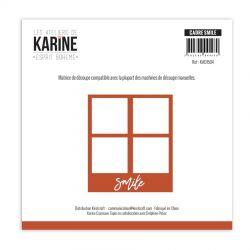 Les Ateliers de Karine Die Esprit Bohème Cadre Smile