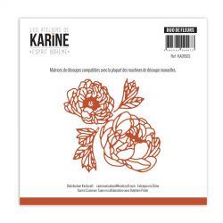 Les Ateliers de Karine Dies Esprit Bohème Duo de Fleurs