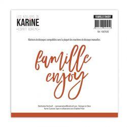 Les Ateliers de Karine Dies Esprit Bohème Famille -Enjoy