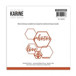 Les Ateliers de Karine Dies Esprit Bohème hexa love