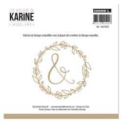 Les Ateliers de Karine - Woodland Dies Couronne &...