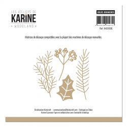 Les Ateliers de Karine - Woodland Dies Jolies Branches