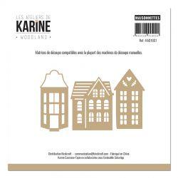 Les Ateliers de Karine - Woodland Dies Maisonnettes