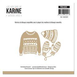 Les Ateliers de Karine - Woodland Dies Pull & Co