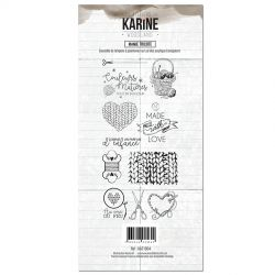 Les Ateliers de Karine Woodland Clear Mamie tricote