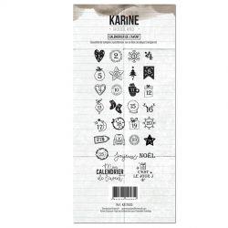 Les Ateliers de Karine Woodland Calendrier de l'Avent