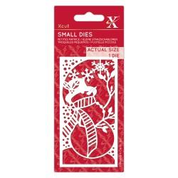 X CUT Small Dies - Snowman