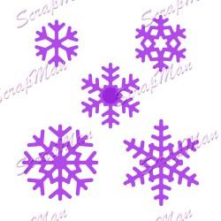 ScrapMan Dies - Set Snowflakes