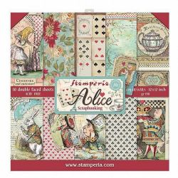 Stamperia Alice (kit collection)
