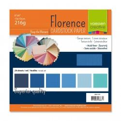 Florence • Cardstock  Bleu...