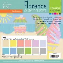 Florence • Cardstock Pastel...