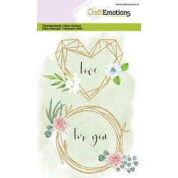 CraftEmotions clearstamps -...