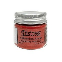 Distress Ink Crackling...