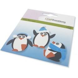 CraftEmotions Die - Penguin