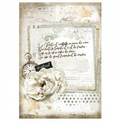 Stamperia- Romantic Journal...